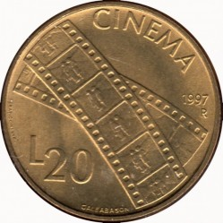 Moneda > 20lire, 1997 - San Marino  - reverse