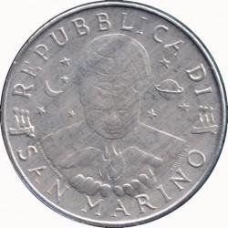 Moneda > 10lire, 1998 - San Marino  - obverse