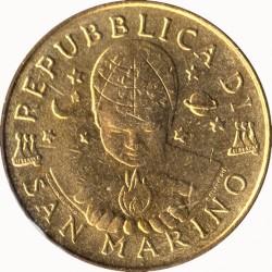 Монета > 200лир, 2000 - Сан-Марино  - obverse