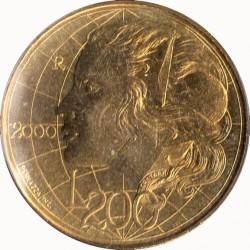Монета > 200лир, 2000 - Сан-Марино  - reverse