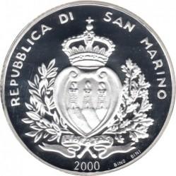 Moneta > 10000lire, 2000 - San Marino  (1700° anniversario - Repubblica) - obverse