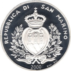 Moneta > 10000lire, 2000 - San Marino  (2000° anniversario - Nascita di Gesù Cristo) - obverse