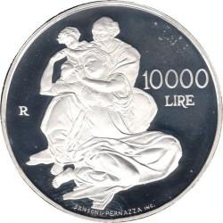 Moneta > 10000lire, 2000 - San Marino  (2000° anniversario - Nascita di Gesù Cristo) - reverse