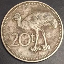 Coin > 20toea, 1996 - Papua New Guinea  - reverse