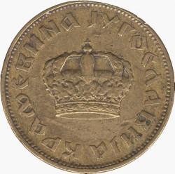 Монета > 2динара, 1938 - Югославия  (Маленькая корона на аверсе) - obverse