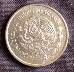 Coin > 5centavos, 2002 - Mexico  - reverse