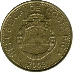 Монета > 500колонів, 2003-2005 - Коста-Ріка  - obverse