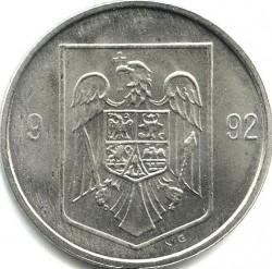 Monēta > 5lejas, 1992-2000 - Rumānija  - obverse