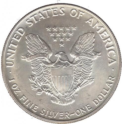 1 Dollar 1992 American Silver Eagle Verenigde Staten