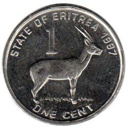 Moneta > 1cent, 1997 - Erytrea  - obverse