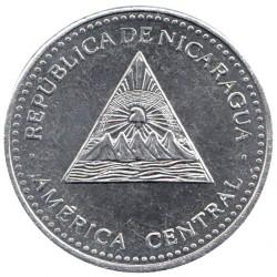 Νόμισμα > 1Κόρντομπα, 2002-2014 - Νικαράγουα  - obverse
