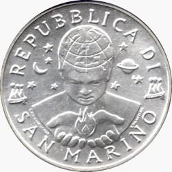 Монета > 5000лір, 2000 - Сан-Марино  (Мир) - obverse