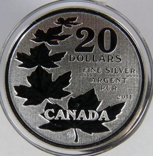 20 Dollar 2011 Maple Leafs Kanada Münzen Wert Ucoinnet