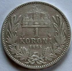 Moneta > 1corona, 1892-1906 - Ungheria  - reverse