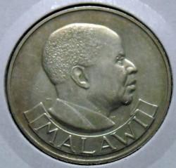 Coin > ½crown, 1964 - Malawi  - obverse