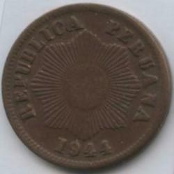 Moneda > 1centavo, 1941-1949 - Perú  - obverse