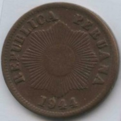 سکه > 1سنتاوو, 1941-1949 - پرو  - reverse