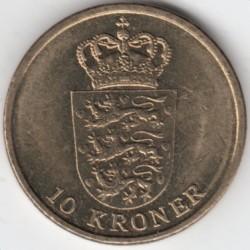 Монета > 10крон, 2011-2012 - Данія  - obverse