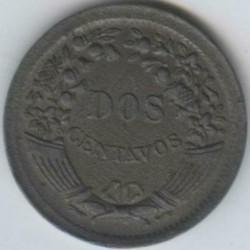 Moneta > 2centavos, 1950-1958 - Perù  - reverse