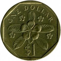 Münze > 1Dollar, 1987-1991 - Singapur   - reverse