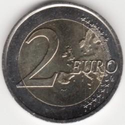 Moeda > 2euro, 2015 - Eslováquia  (30 Anos da Bandeira da União Europeia) - reverse