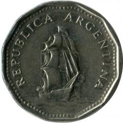 Pièce > 5pesos, 1961-1968 - Argentine  - obverse