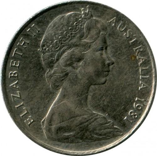 10 Cent 1966 1984 Australien Münzen Wert Ucoinnet