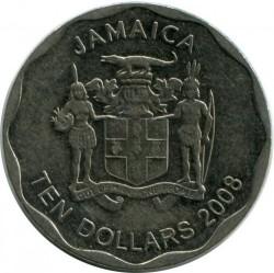 Münze > 10Dollar, 2008-2017 - Jamaika  - obverse