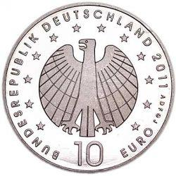 Moeda > 10euro, 2011 - Alemanha  (Women's Football Championship 2011) - obverse