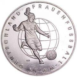 Moeda > 10euro, 2011 - Alemanha  (Women's Football Championship 2011) - reverse