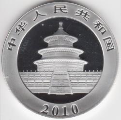 Moneta > 10yuan, 2010 - Cina  (Panda) - obverse
