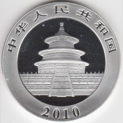Moneta > 10yuan, 2010 - Cina  (Panda) - reverse