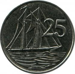Moneta > 25centesimi, 1999-2017 - Cayman (Isole)  - obverse