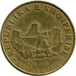 Moneda > 10lekë, 2000 - Albania  - obverse