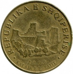 Moneda > 10lekë, 2000 - Albania  - reverse