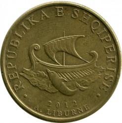 Minca > 20lekë, 2012-2016 - Albánsko  - obverse
