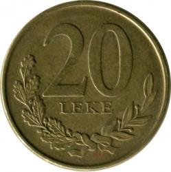 Moneda > 20lekë, 2012 - Albania  - reverse