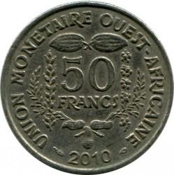 Moneta > 50franków, 2010 - Afryka Zachodnia (BCEAO)  - reverse