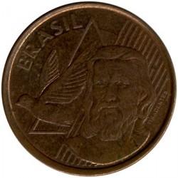 Moneda > 5centavos, 2011 - Brasil  - obverse