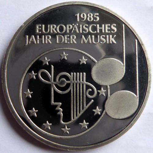 5 Mark 1985 Europäisches Jahr Der Musik Deutschland Münzen Wert