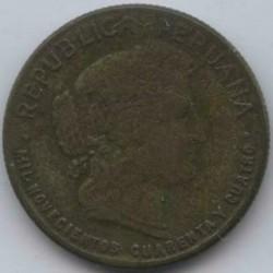 Moeda > 10centavos, 1942-1944 - Peru  - obverse