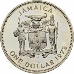 Pièce > 1dollar, 1971-1979 - Jamaïque  - obverse