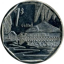 Monēta > 1peso, 1994-2017 - Kuba  - reverse