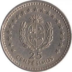 Monedă > 25centésimo, 1960 - Uruguay  - reverse