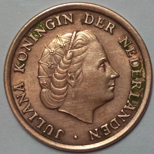 1 Cent 1962 Niederlande Münzen Wert Ucoinnet