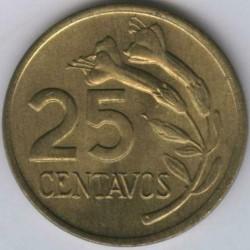 سکه > 25سنتاوس, 1975 - پرو  - reverse
