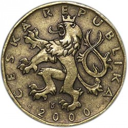 Moneta > 20koron, 2000 - Czechy  (Millennium - Rok 2000) - reverse