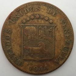 Монета > 12½сентимів, 1944 - Венесуела  - obverse