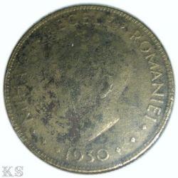 Munt > 20lei, 1930 - Roemenië  (Portrait of Mihai I) - reverse