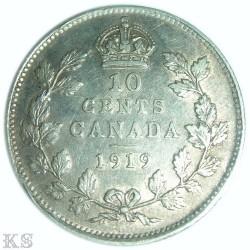 Münze > 10Cent, 1912-1919 - Kanada   - reverse